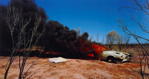 An image of one dozen unnatural disasters in the Australian landscape #2 by Rosemary Laing