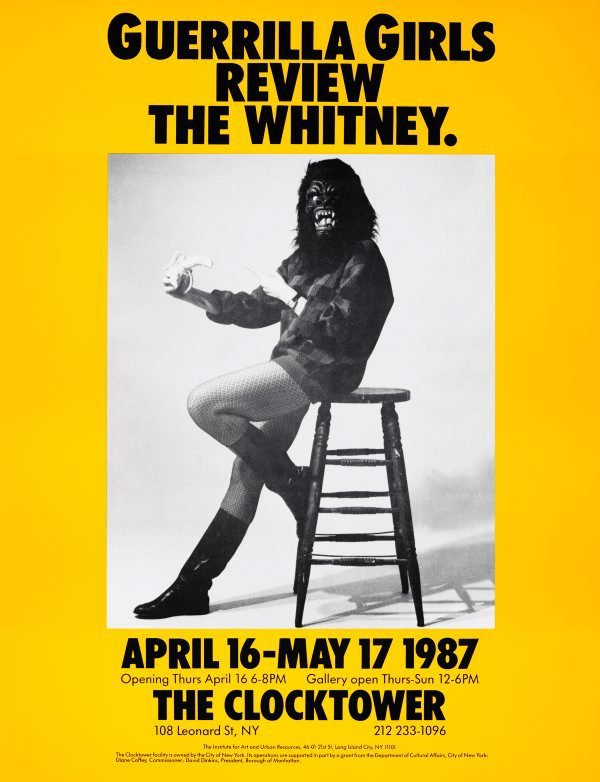 Guerrilla Girls review the Whitney, (1987), Portfolio Compleat 1985-2012 by Guerrilla Girls