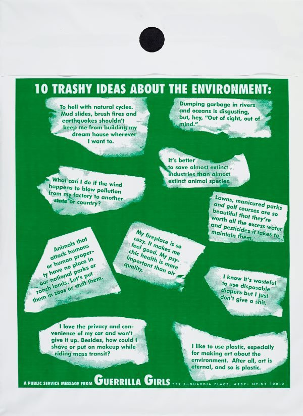 An image of 10 trashy ideas about the environment