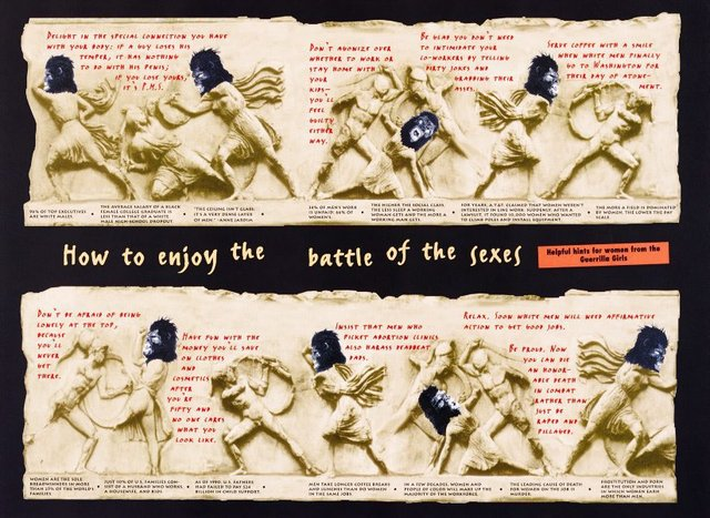An image of Battle of the Sexes (project for The New Yorker)