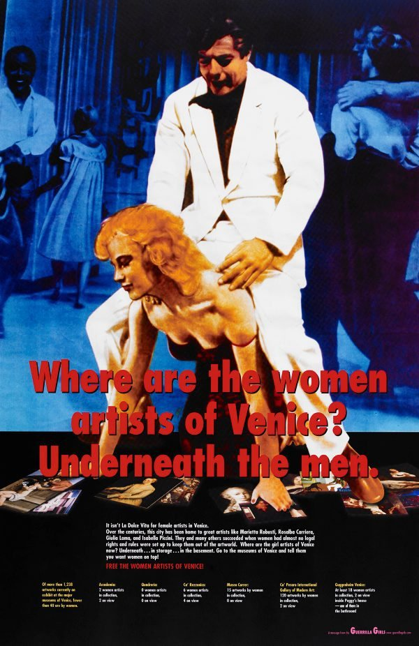 Where are the women artists of Venice? project for the Venice Biennale, (2005), Portfolio Compleat 1985-2012 by Guerrilla Girls