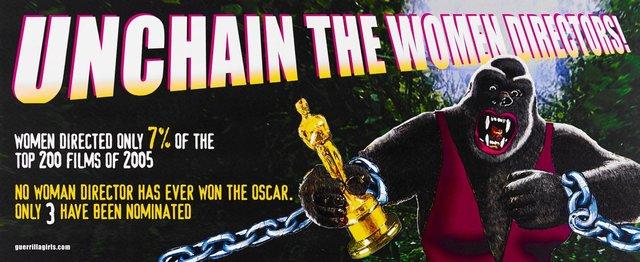 An image of Unchain the women directors billboard