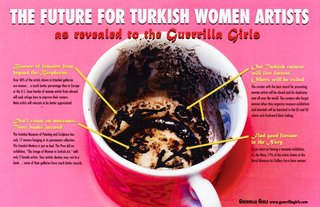 AGNSW collection Guerrilla Girls The future for Turkish women artists 2006