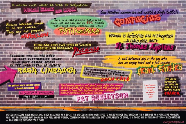 Disturbing the peace, (2009), Portfolio Compleat 1985-2012 by Guerrilla Girls