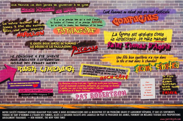 Alternate image of Disturbing the peace by Guerrilla Girls