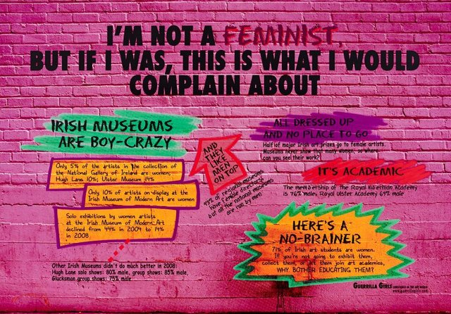 Irish not a Feminist, (2010), Portfolio Compleat 1985-2012 by Guerrilla Girls