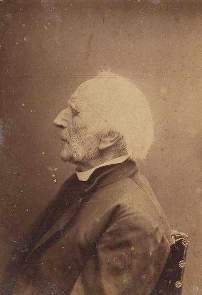 An image of Untitled (portrait of a man, side profile, bust length) by Unknown photographer