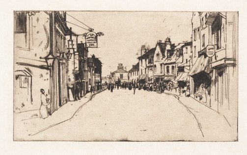 An image of Ware by Sir David Young Cameron