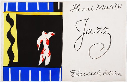 An image of The clown by Henri Matisse
