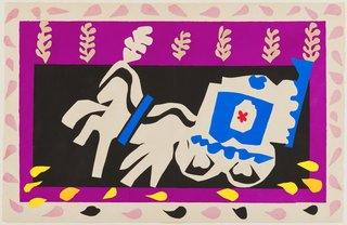 AGNSW collection Henri Matisse Pierrot's funeral (1947) 151.2014.10