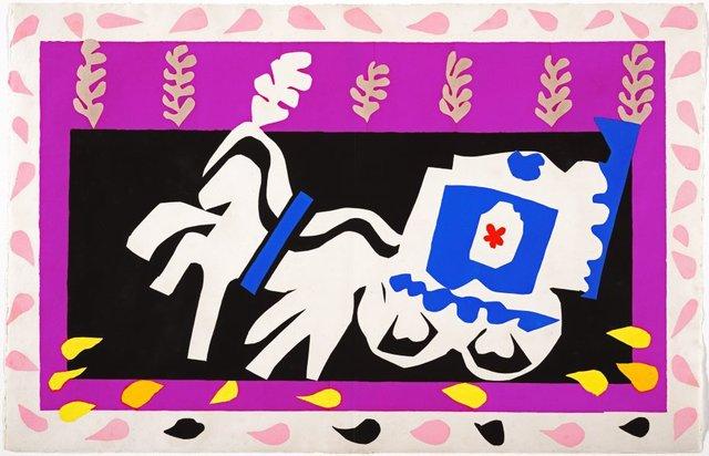Pierrot's funeral, (1947), Jazz by Henri Matisse