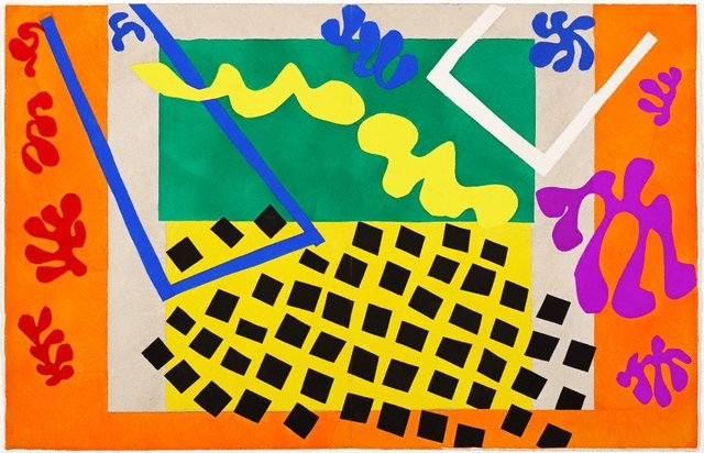 The Codomas, (1947), Jazz by Henri Matisse