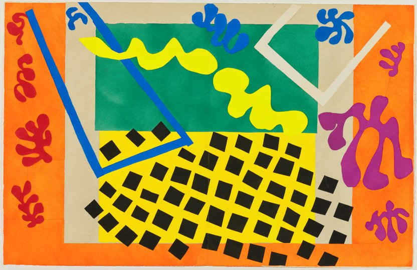 AGNSW collection Henri Matisse The Codomas (1947) 151.2014.11