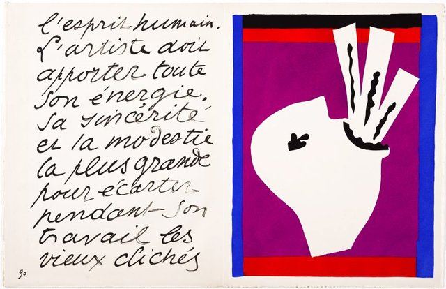 The sword swallower, (1947), Jazz by Henri Matisse