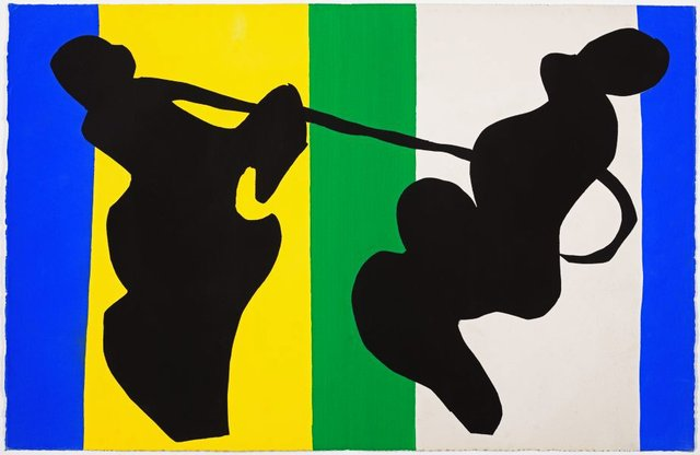 The cowboy, (1947), Jazz by Henri Matisse