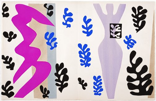An image of The knife thrower by Henri Matisse