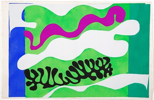 An image of The lagoon by Henri Matisse