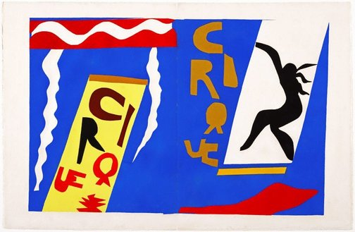 An image of The circus by Henri Matisse