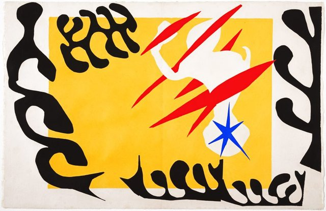 The nightmare of the white elephant, (1947), Jazz by Henri Matisse