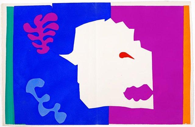 The wolf, (1947), Jazz by Henri Matisse