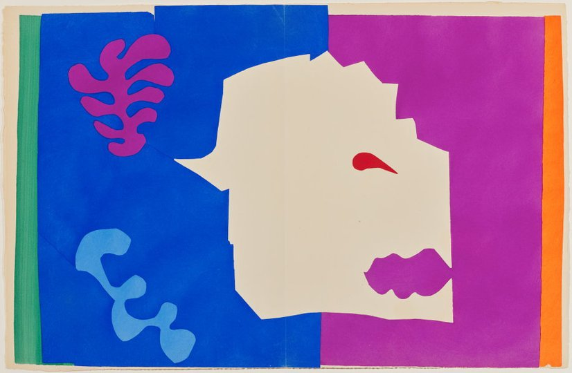 AGNSW collection Henri Matisse The wolf (1947) 151.2014.6
