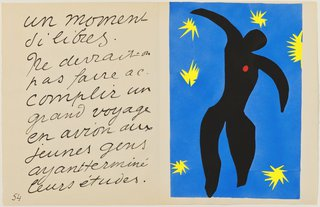 AGNSW collection Henri Matisse Icarus (1947) 151.2014.8