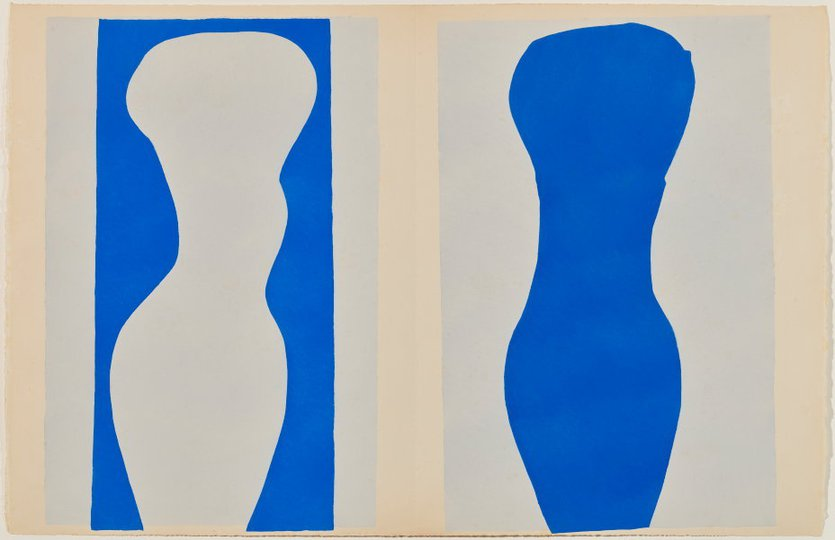 AGNSW collection Henri Matisse Forms (1947) 151.2014.9