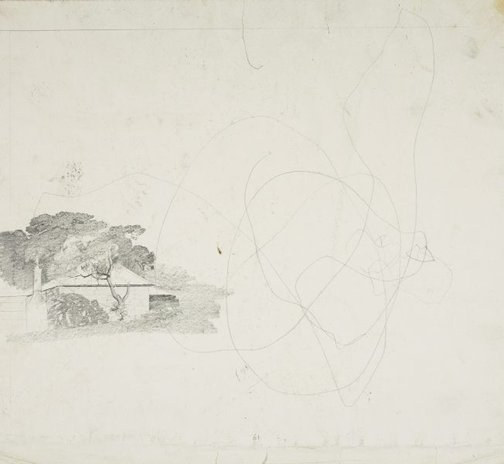 An image of Study for 'Towards Parramatta' by Lloyd Rees