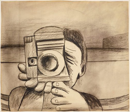 An image of Camera by Charles Blackman