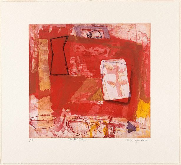 AGNSW collection Elisabeth Cummings The red table 2001