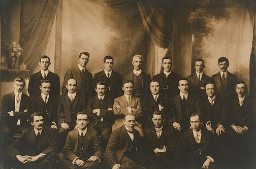 An image of Directors and managers of Harringtons Ltd., and Harringtons, N.Z., Ltd by Unknown photographer
