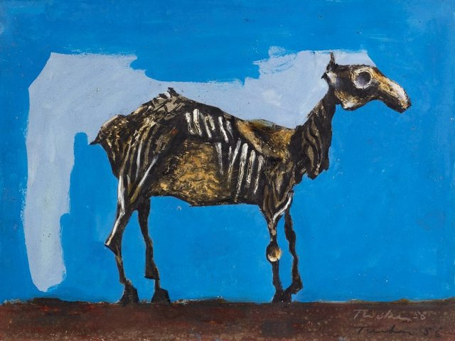 An image of Desiccated horse