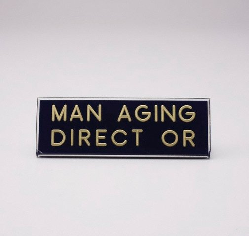 An image of Man aging direct or by Richard Tipping