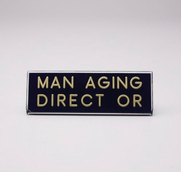An image of Man aging direct or