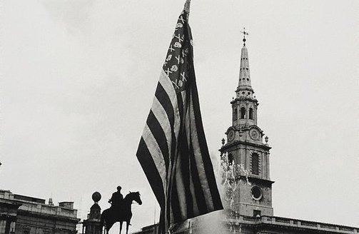 An image of Anti-Vietnam war demonstration, London by Lewis Morley