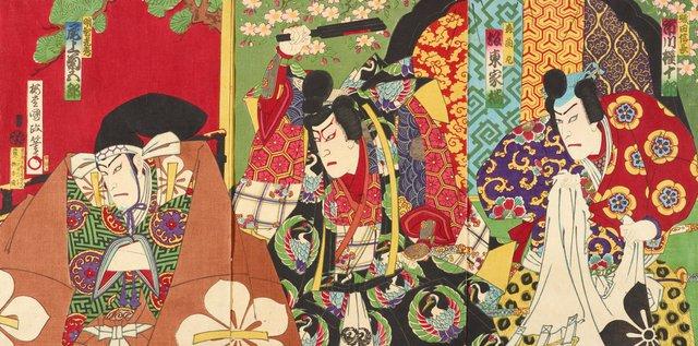 An image of Kabuki scene