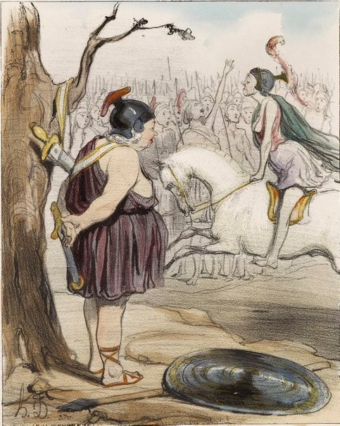 An image of The Amazons by Honoré Daumier