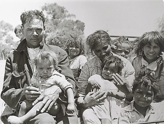 An image of Jack and his family, Pingelly, Western Australia