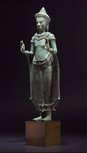 Alternate image of Standing crowned Buddha by