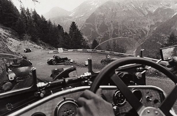 An image of Fraser Nash car rally, Stelvio Pass, Italy  demonstration, London