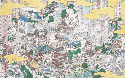 An image of Tokei (Tokyo): Roppongi Hills by YAMAGUCHI Akira