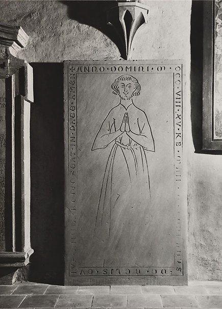 An image of Monk's gravestone, Klosterkirche, Berlin by Wolfgang Sievers