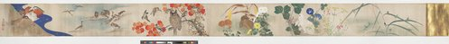 An image of Flowers, birds and small animals of the four seasons by Nozaki Shin'ichi
