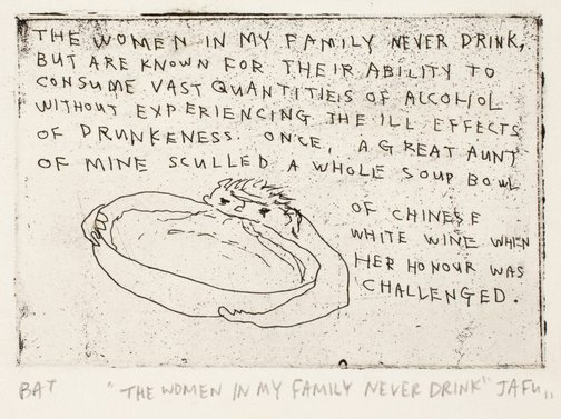 An image of The women in my family never drink by Jason Phu