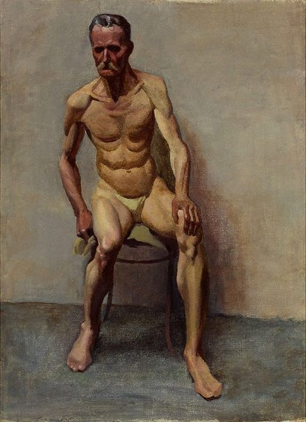 An image of (Untitled male nude) by John Passmore