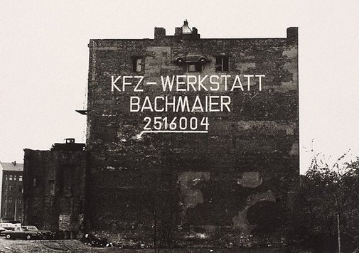An image of Berlin by Lewis Morley