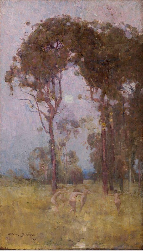 An image of A bush idyll
