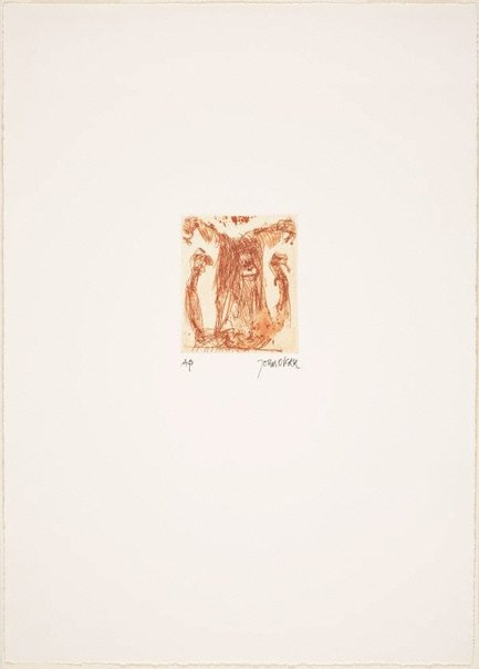 An image of (Monkey) by John Olsen
