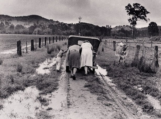 """An image of """"Tobacco Road"""" Ovens Valley"""