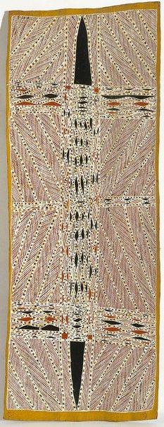 An image of Gumatj Madayin Ranga by Charlie Matjuwi Burarrwanga